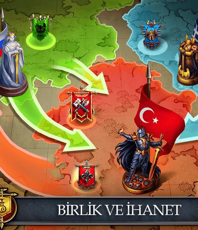 Gods and Glory: War for the Throne İndirin ve PC'de Oynayın 5