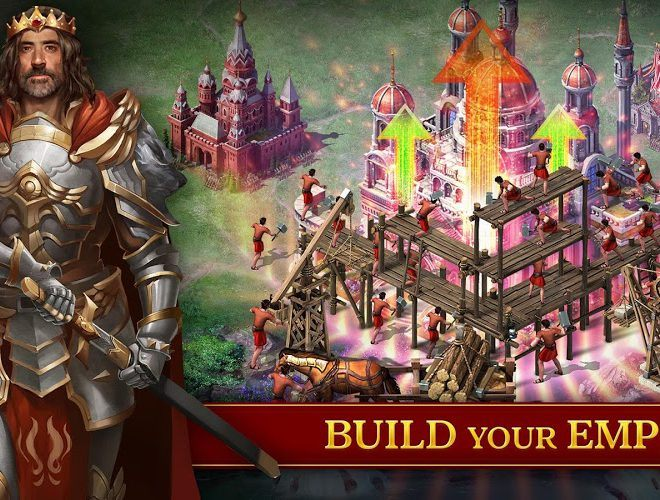 Play Evony: The King's Return  on PC 4