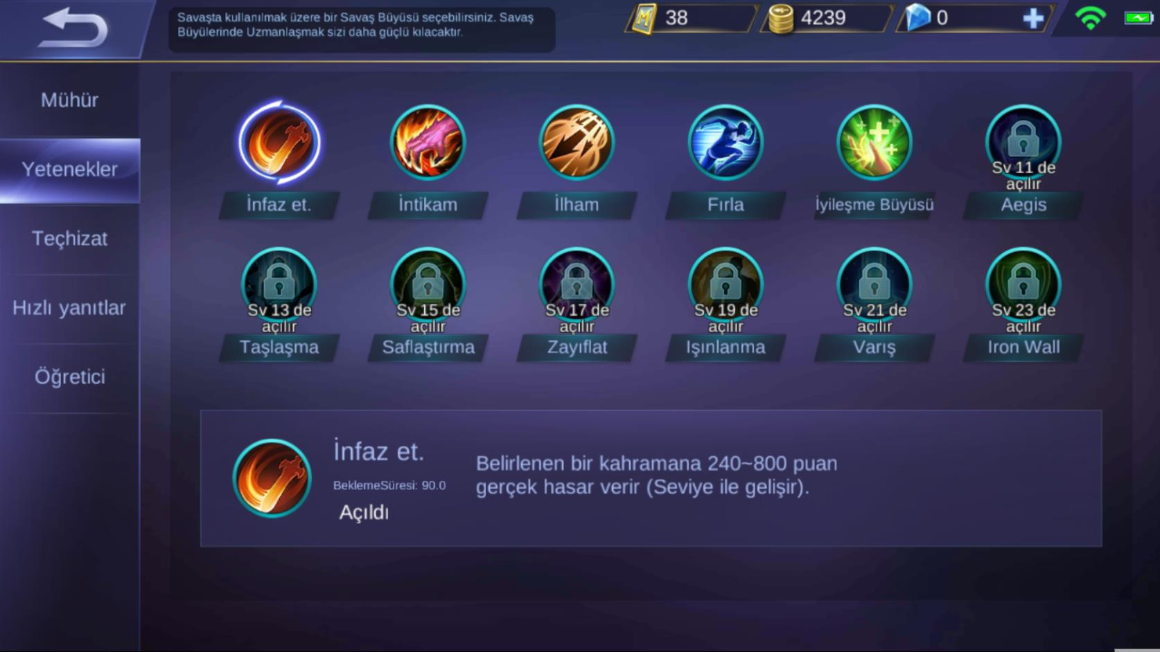 Mobile Legends Skills Tr