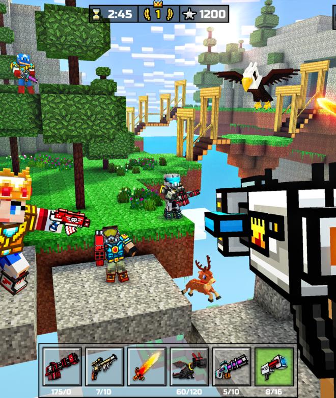 Pixel Gun 3D: Survival shooter & Battle Royale İndirin ve PC'de Oynayın 15