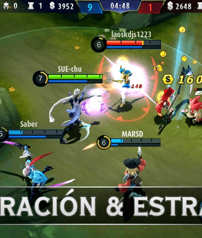Juega Mobile Legends: Bang bang en PC 5