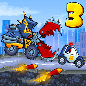 Играй Car Eats Car 3 — Evil Cars На ПК 1