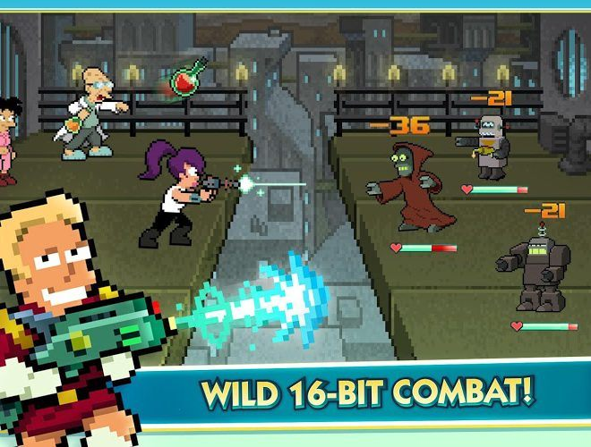Play Futurama: Worlds of Tomorrow on PC 12