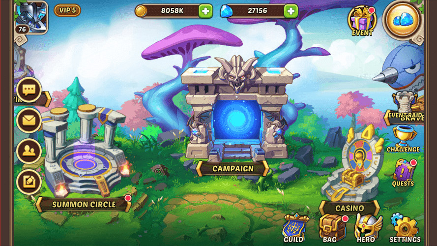 Play Idle Heroes on PC 16