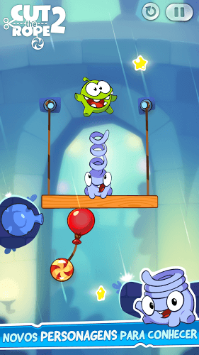 Jogue Cut The Rope 2 on pc 3