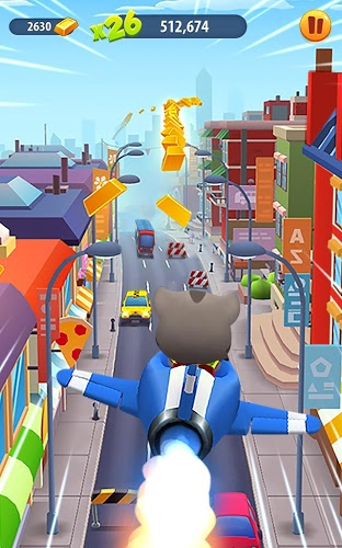 Играй Talking Tom Gold Run На ПК 11