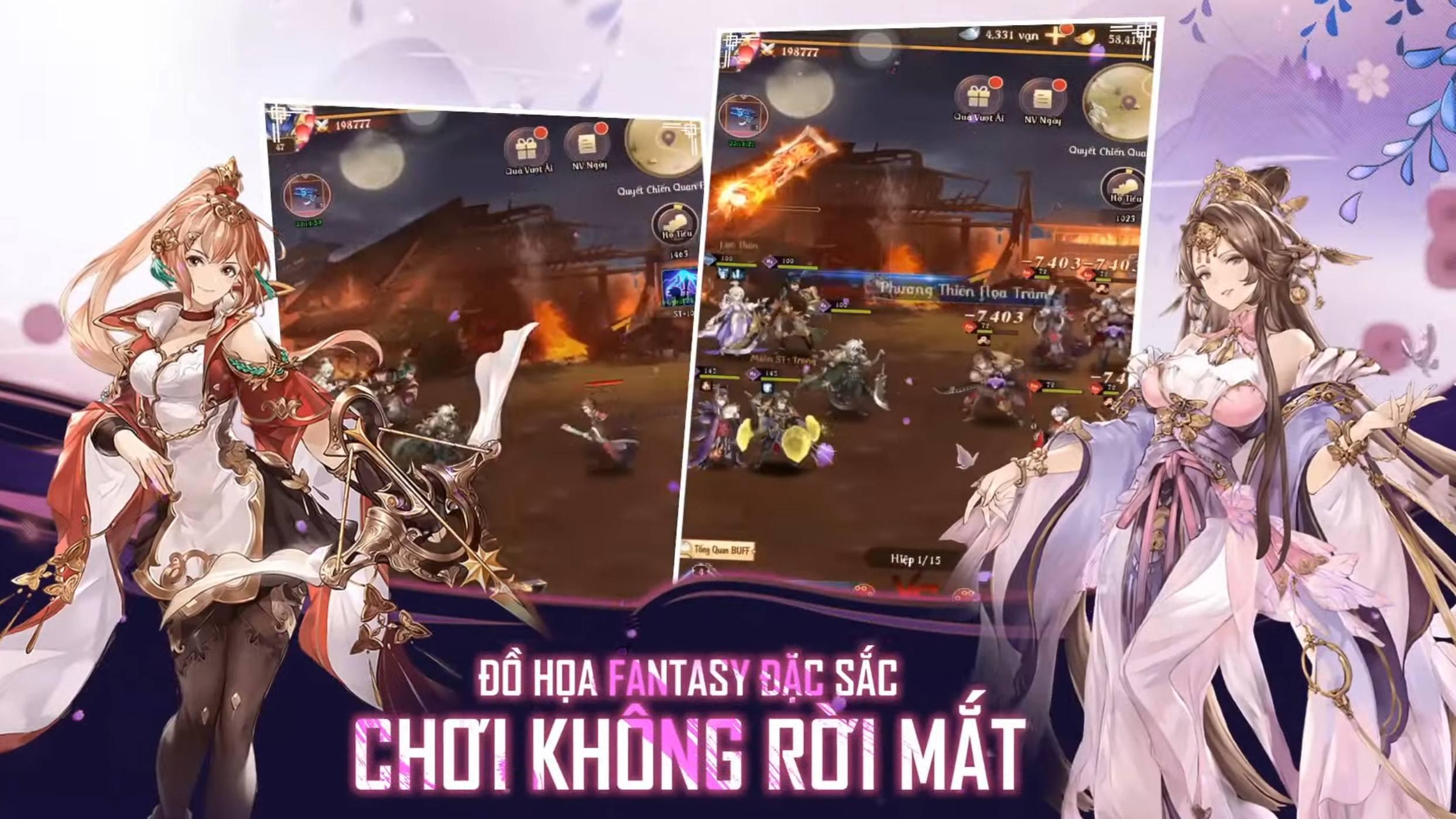 3Q CMN, game đấu tướng chiến thuật Tam Quốc ấn định ngày ra mắt