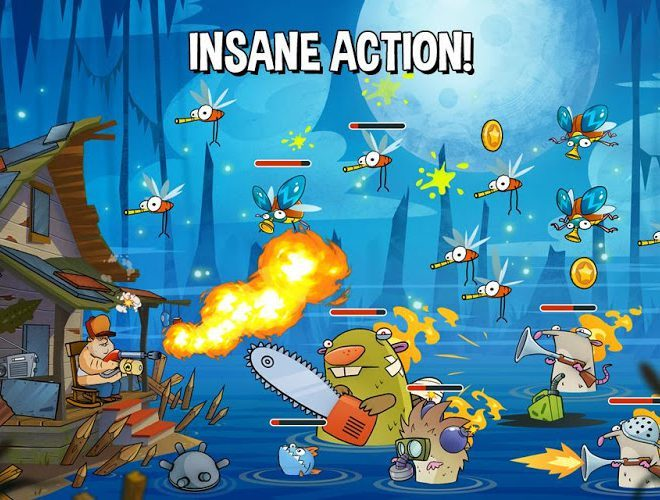 Play Swamp Attack on PC 14