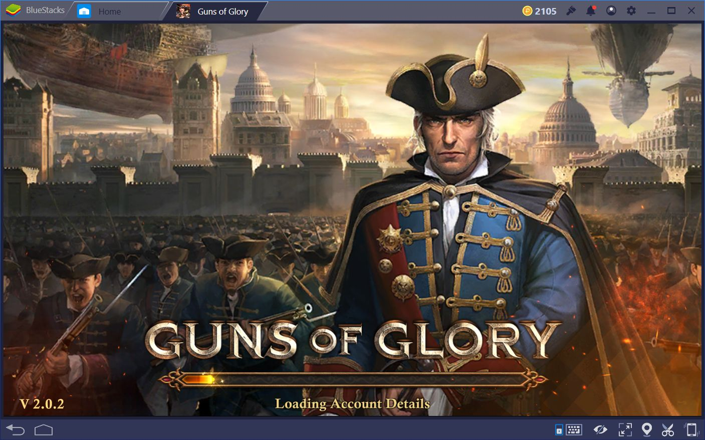 Boosting With the Guard Building in Guns of Glory on PC