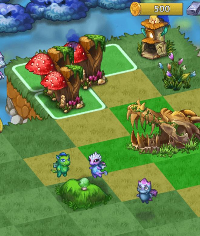 Jogue Merge Dragons! para PC 13