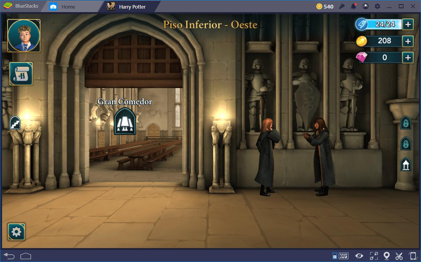 Cómo Administrar tu Energía en Harry Potter: Hogwarts Mystery