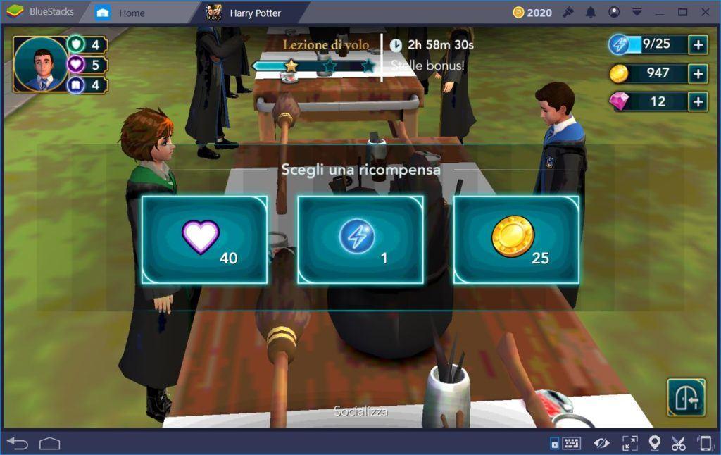Harry Potter Hogwarts Mystery: Guida dell'Energia