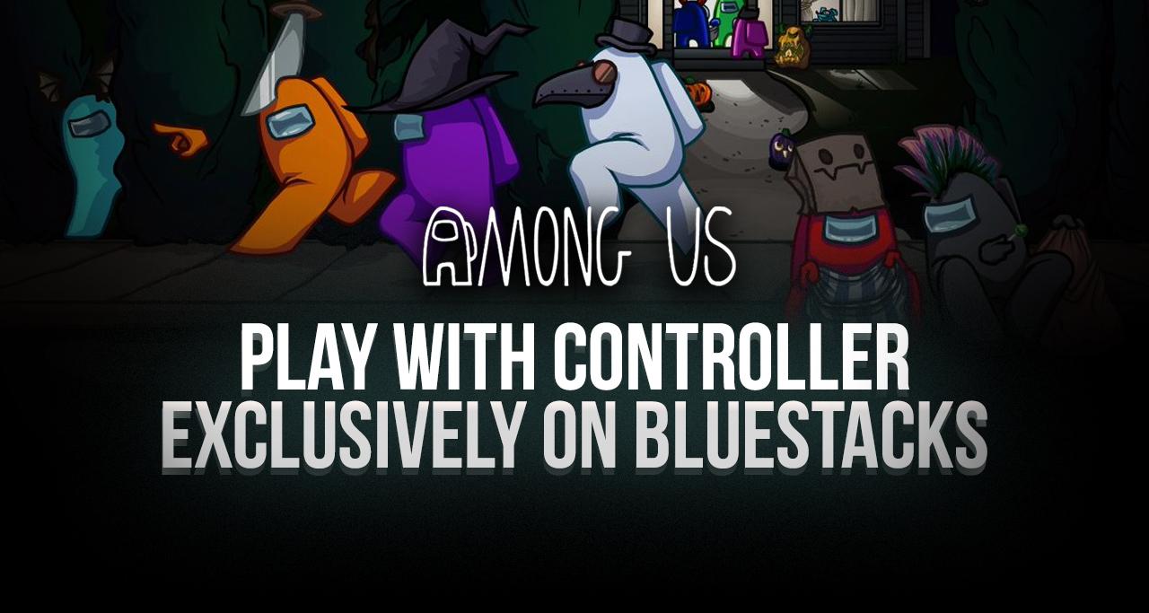 Используйте геймпад, чтобы играть в Among Us на ПК с BlueStacks!
