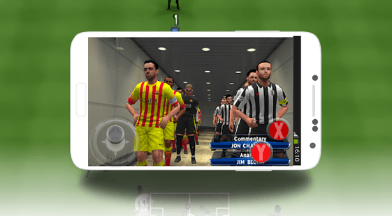 Chơi Pes Soccer Mobile 2017 on PC 3
