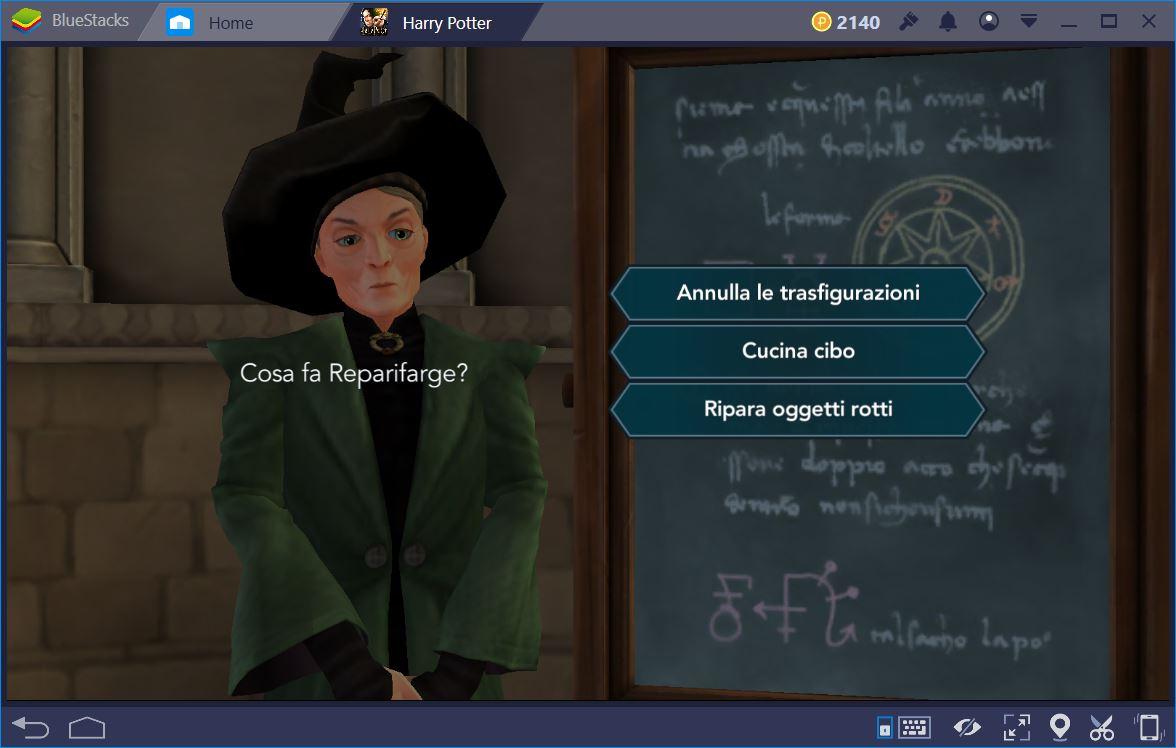 Harry Potter Hogwarts Mystery: Guida alle Domande e ai Dialoghi