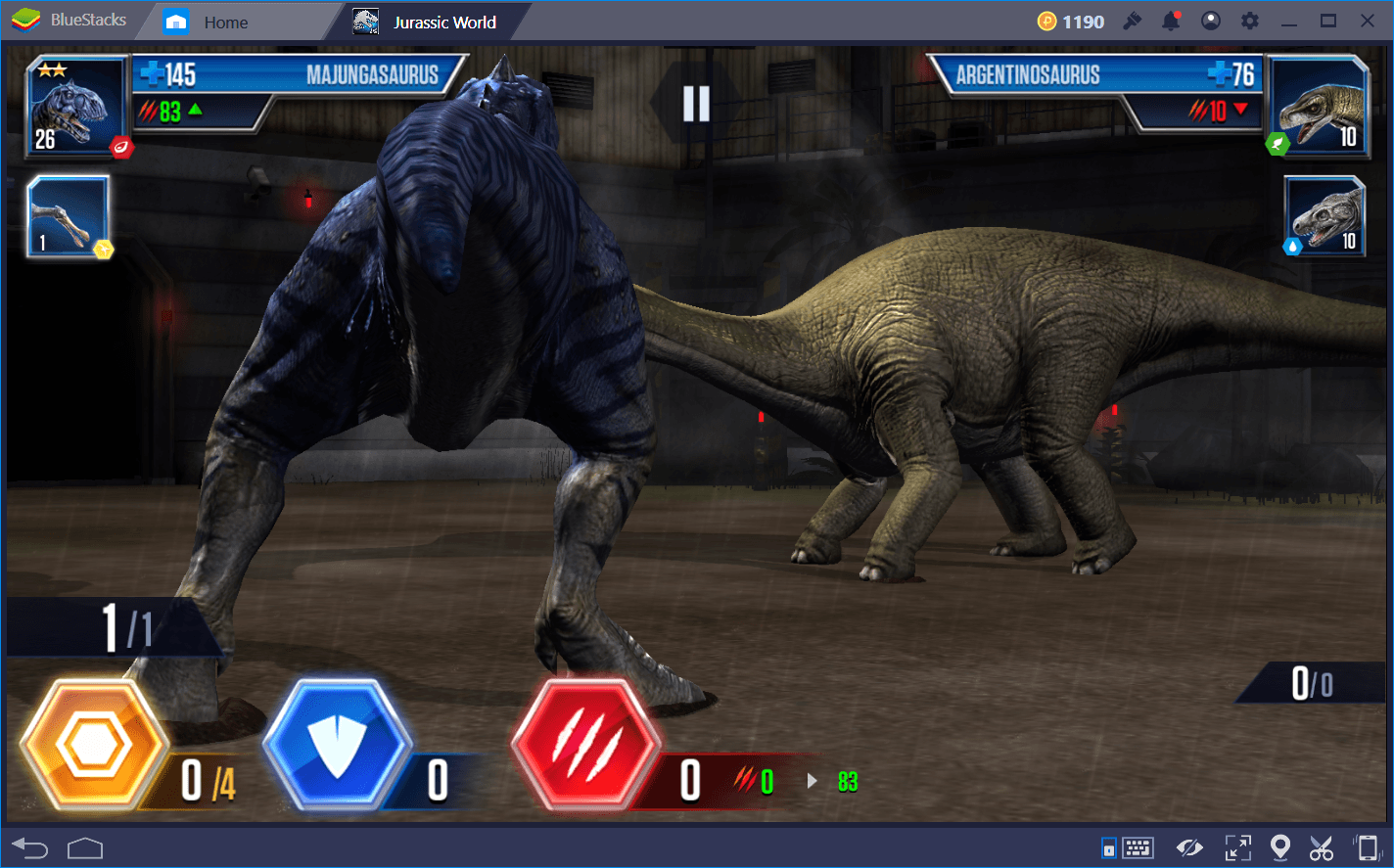 Battle and Duel Strategy Guide for Jurassic World: The Game