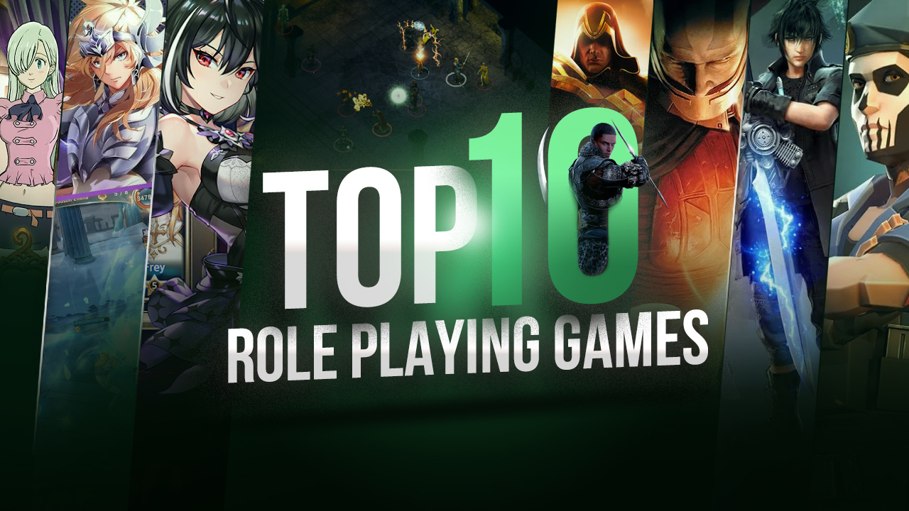 Top 10 RPGs You Have To Play This Month