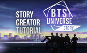 How To Create And Share Your Own Stories in BTS Universe Story