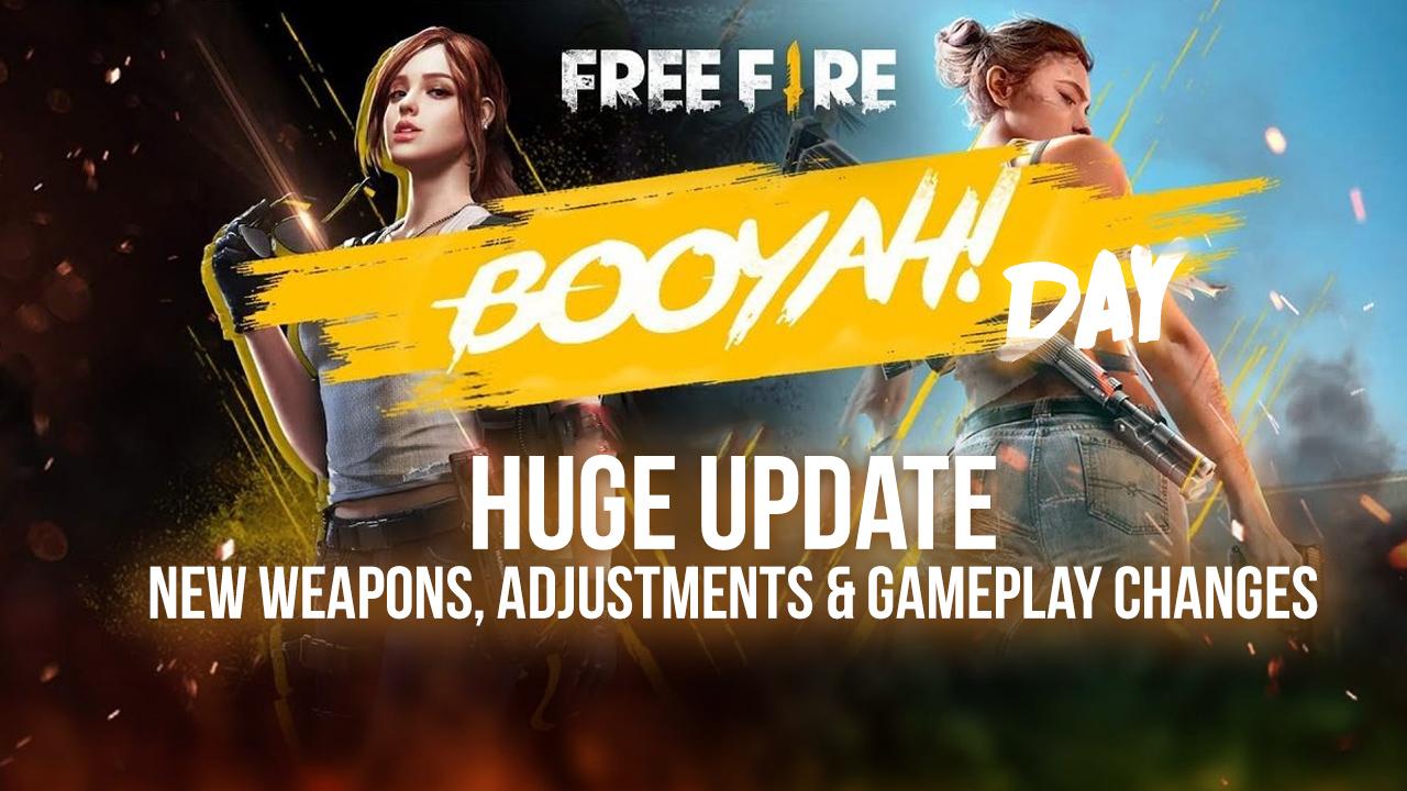 Evento de Día Booyah de Free Fire – ¡Un Nuevo Personaje, Numerosos Premios, y Más!