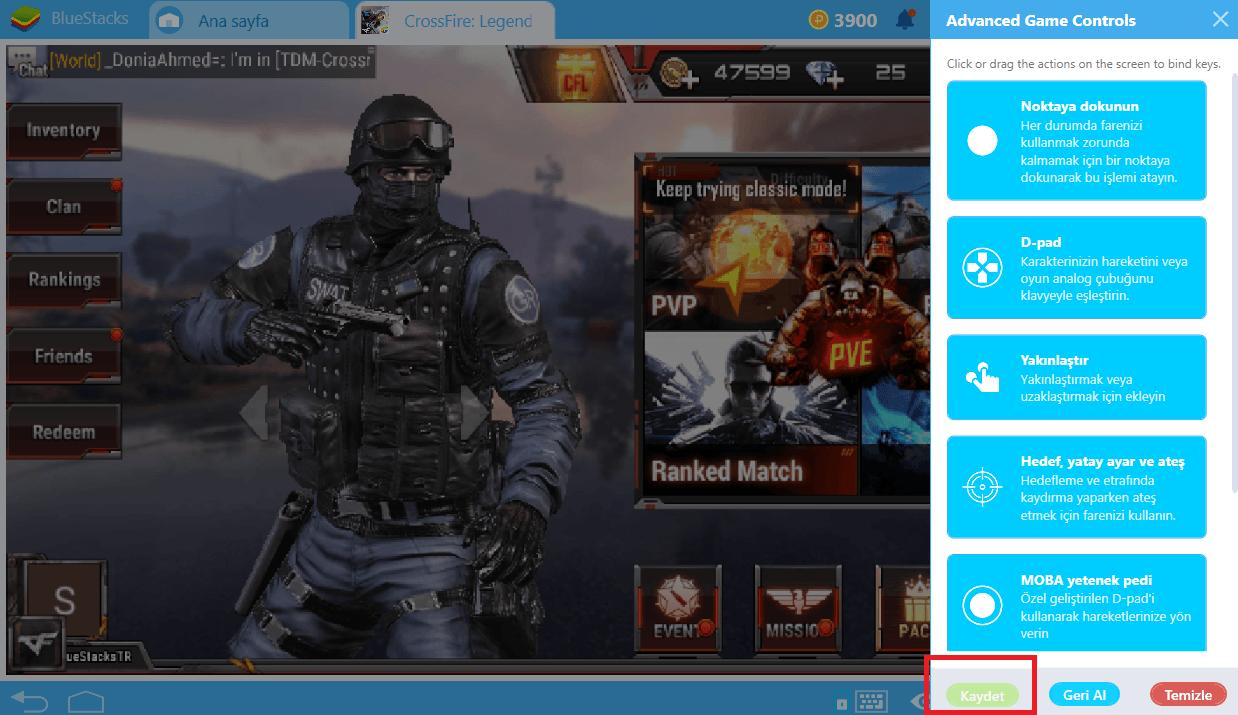 BlueStacks 4'ün Yeni Kontrol Şeması Aracı