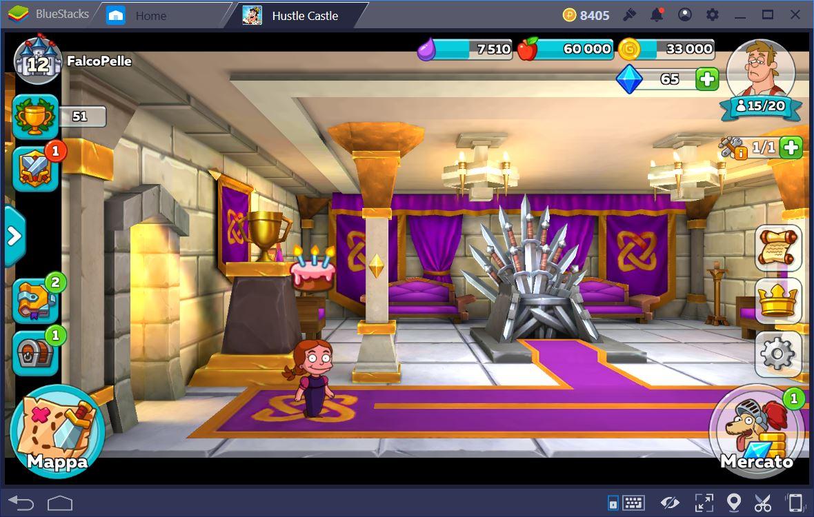 Hustle Castle: Castello Magico Come ottenere nuovi Residenti