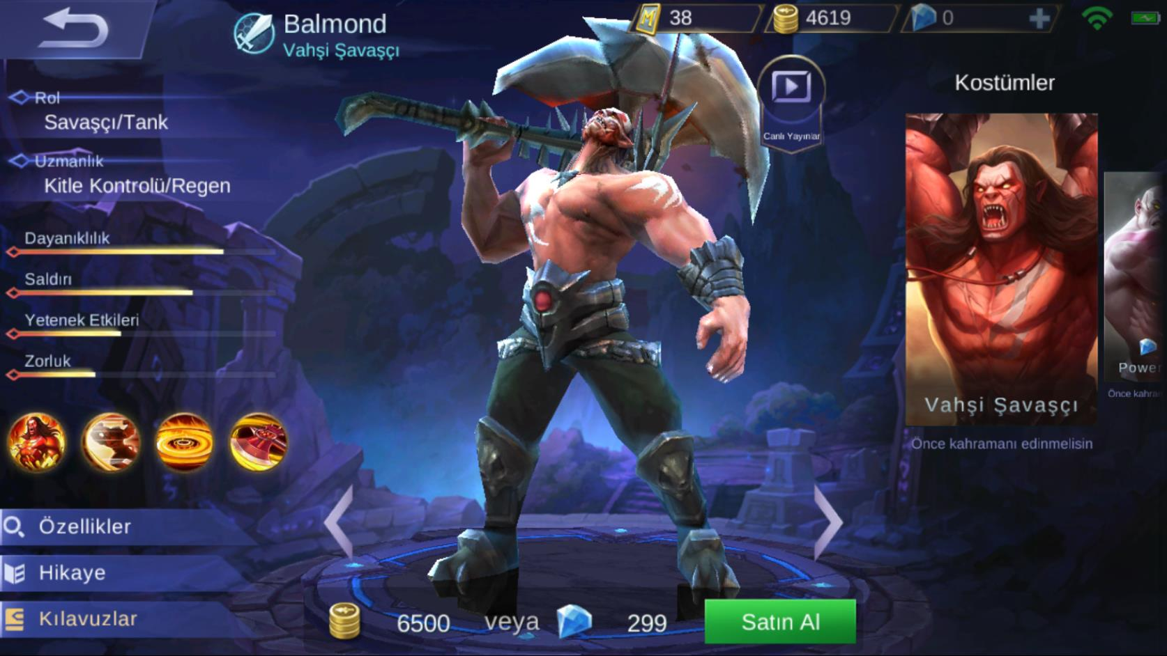 Mobile Legends Balmond Tr