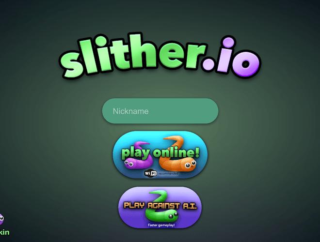 เล่น slither.io on PC 2