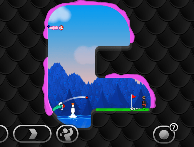 Играй Super Stickman Golf 3 На ПК 3