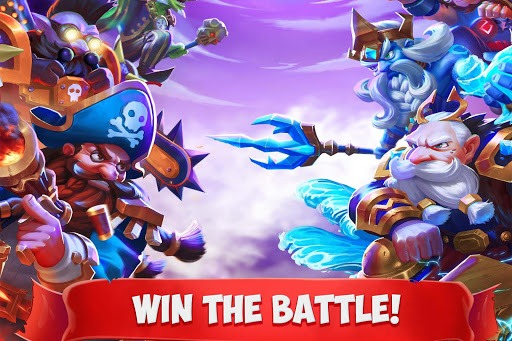 Play Epic Summoners: Battle Hero Warriors – Action RPG on PC 2