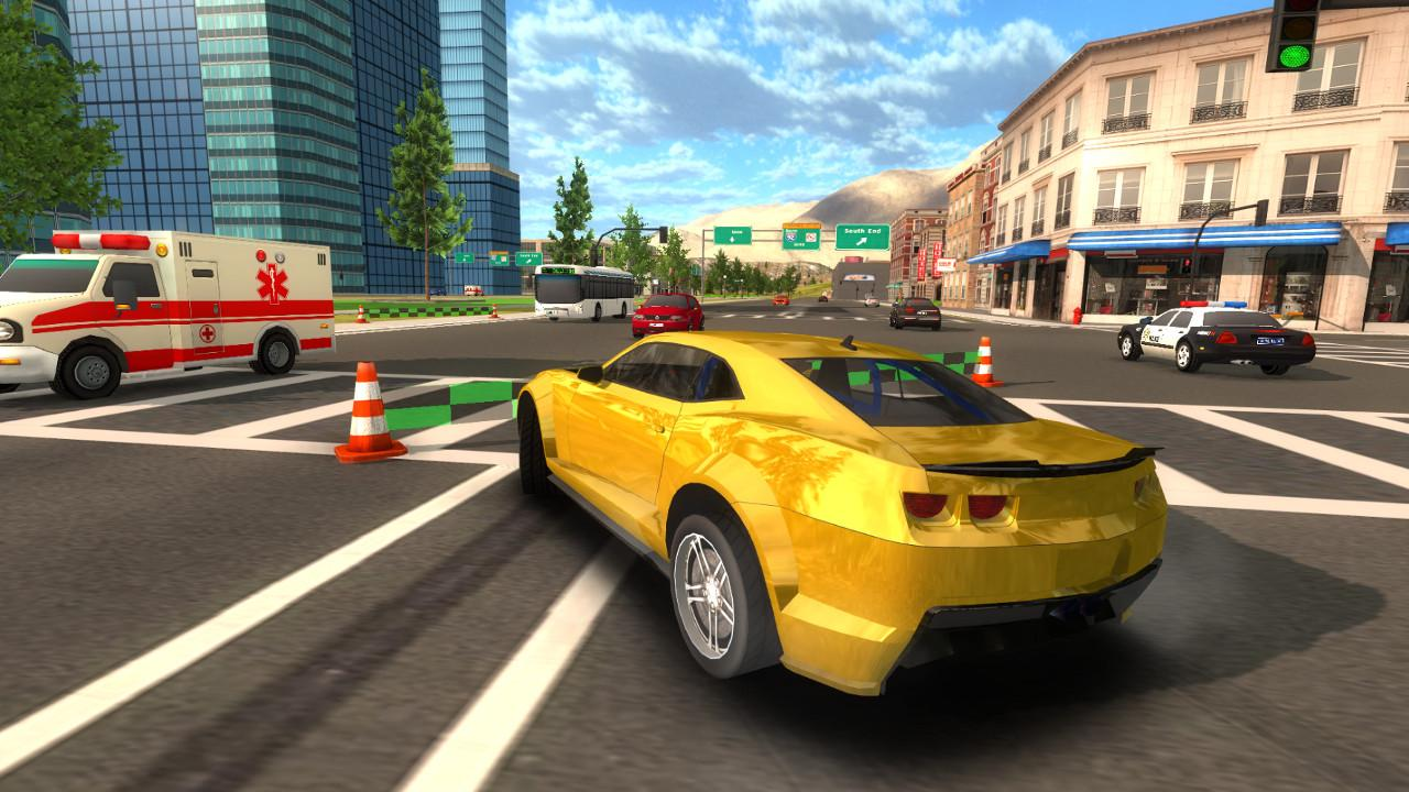 Download Crime Car Driving Simulator on PC with BlueStacks