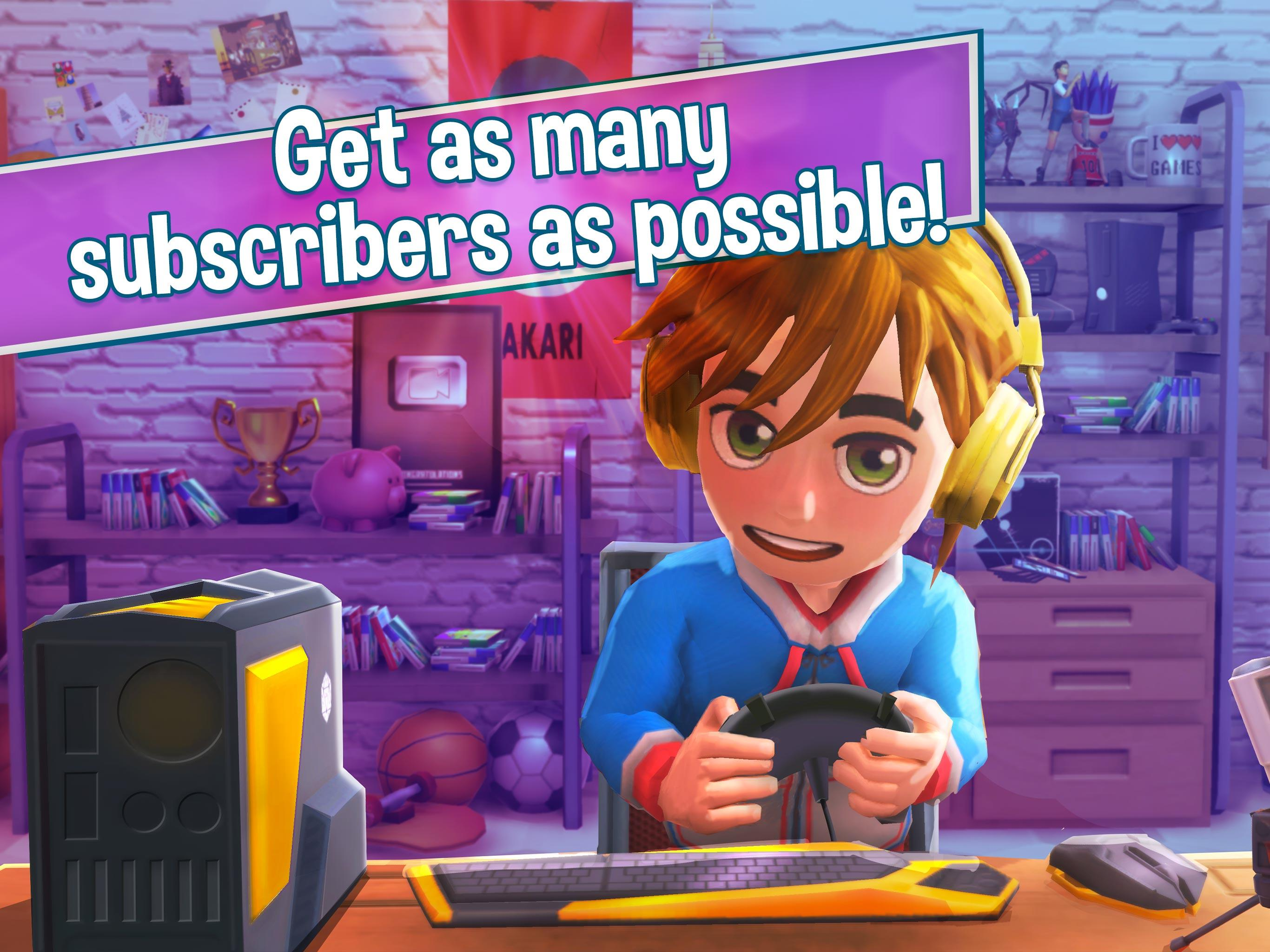 download youtuber life omg android free