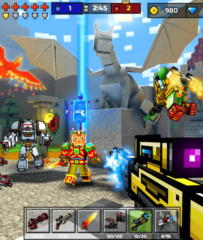 Pixel Gun 3D: Survival shooter & Battle Royale İndirin ve PC'de Oynayın 10