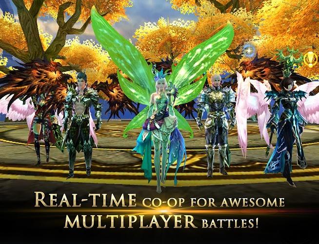 Play Forsaken World Mobile MMORPG on PC 10