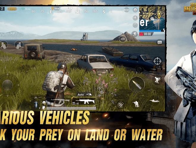 Juega PubG Mobile  on PC 5