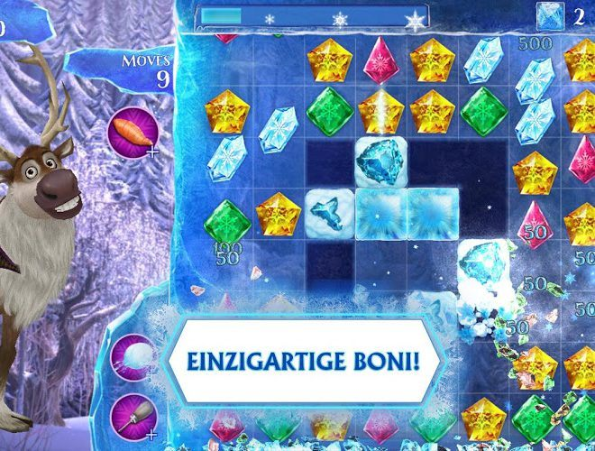 Spielen Frozen Free Fall on pc 15