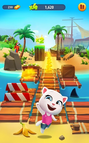 Play Talking Tom Gold Run on PC 8