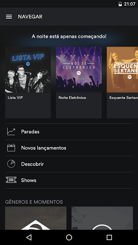 Jogue Spotify android app para PC 4