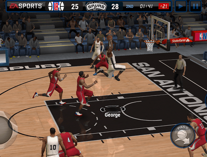 Play NBA LIVE Mobile on PC 14