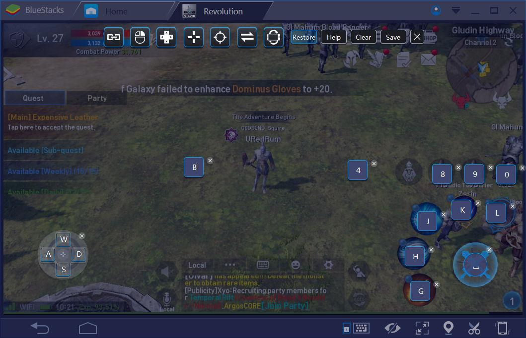 BlueStacksを使ってPCでリネージュ2 レボリューションを遊ぼう