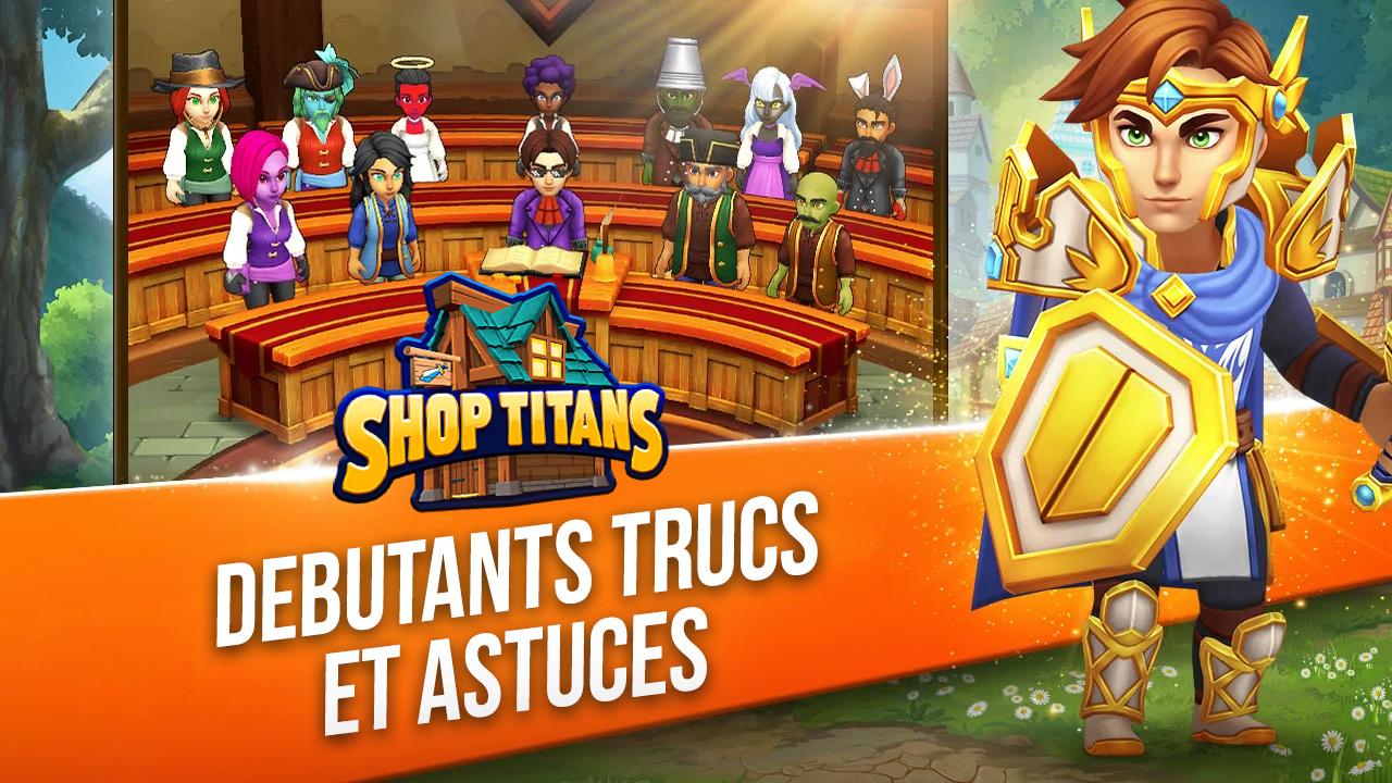 Shop Titans sur PC – Trucs et Astuces pour débutants
