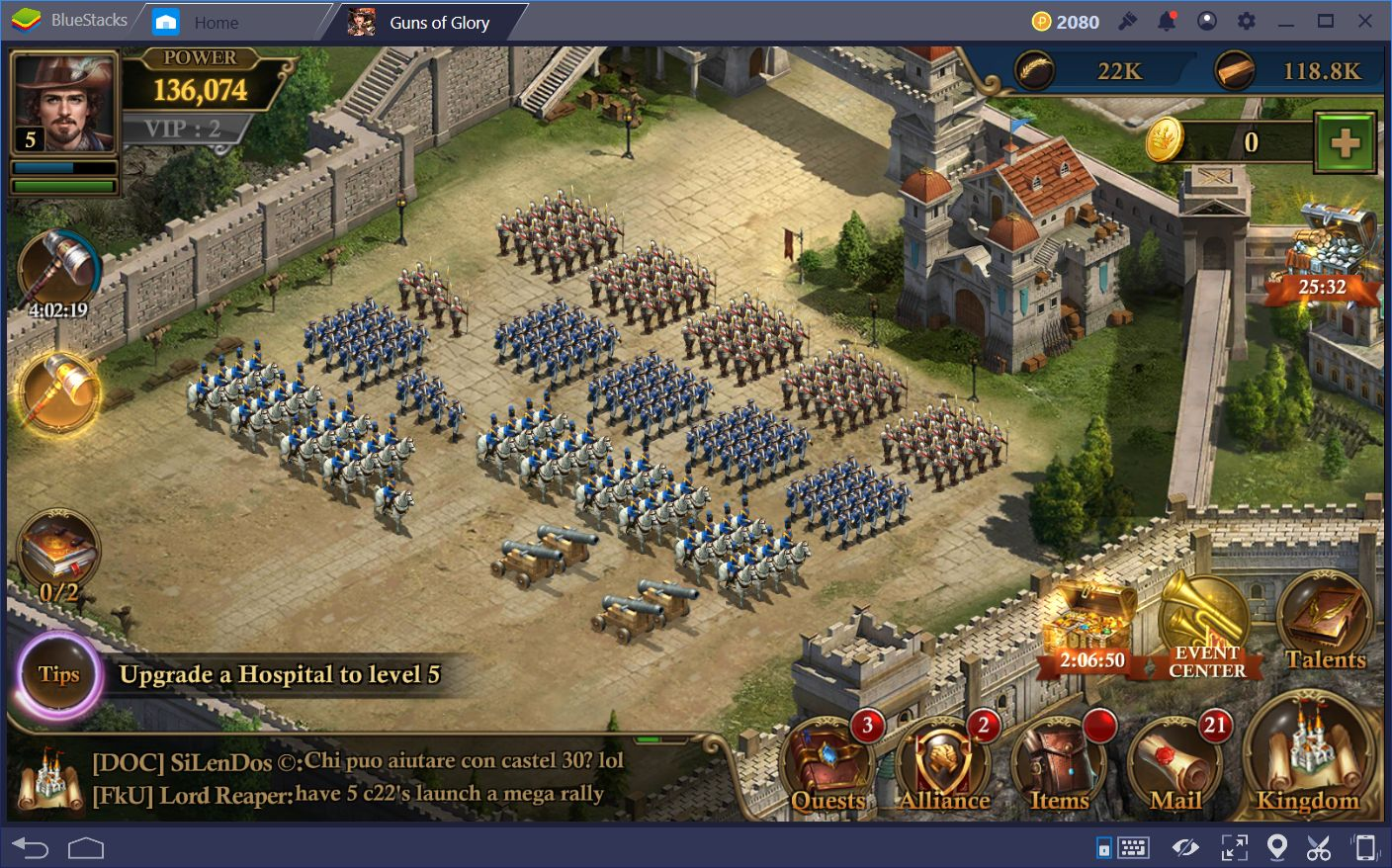 Combat Guide for Guns of Glory Pt  2 | BlueStacks