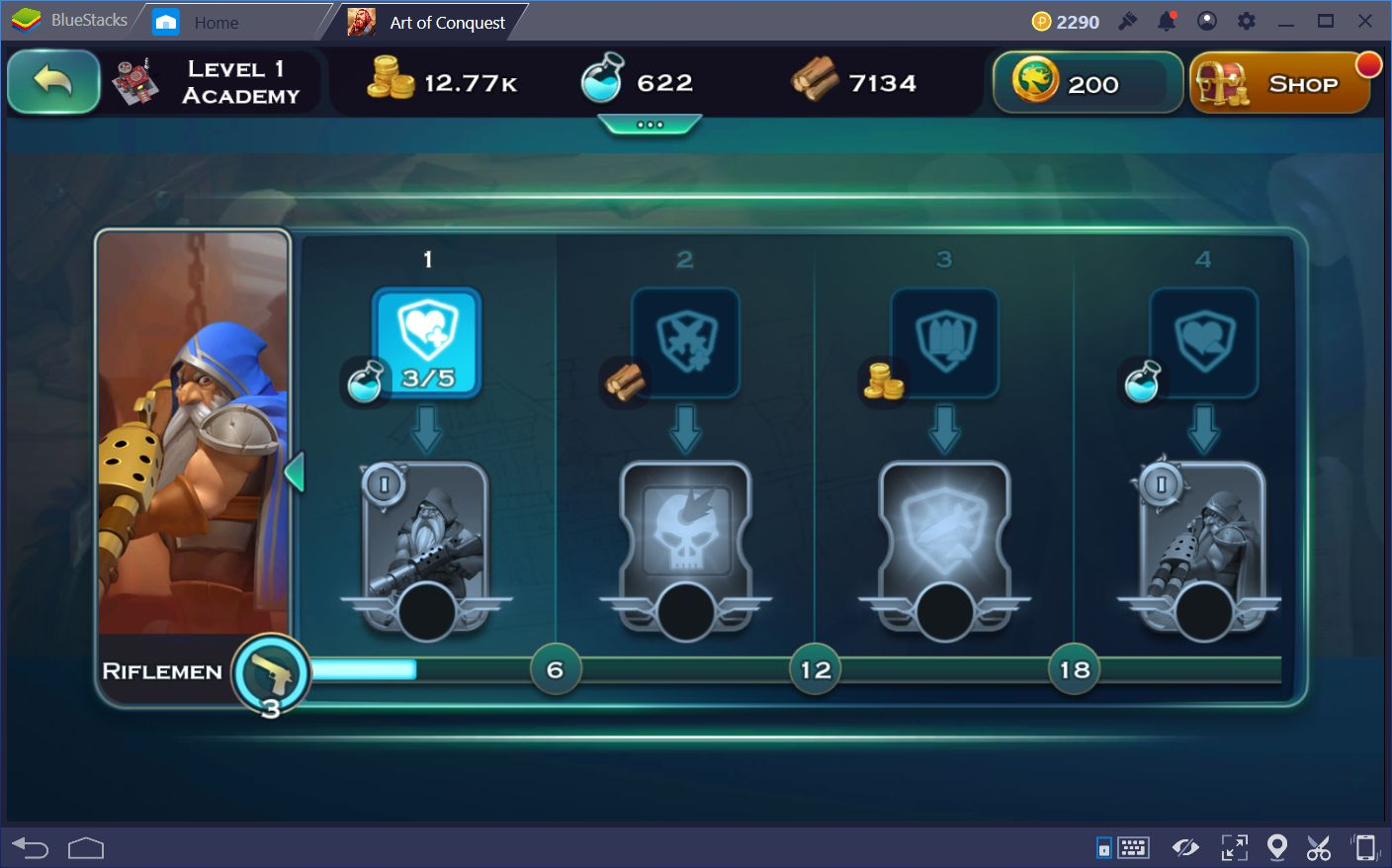 General Tips for Art of Conquest