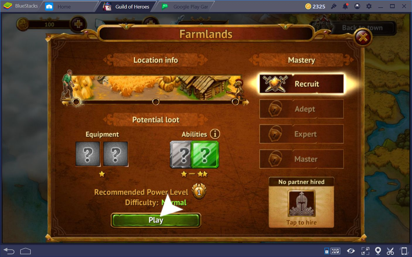 Getting Started in Guild of Heroes