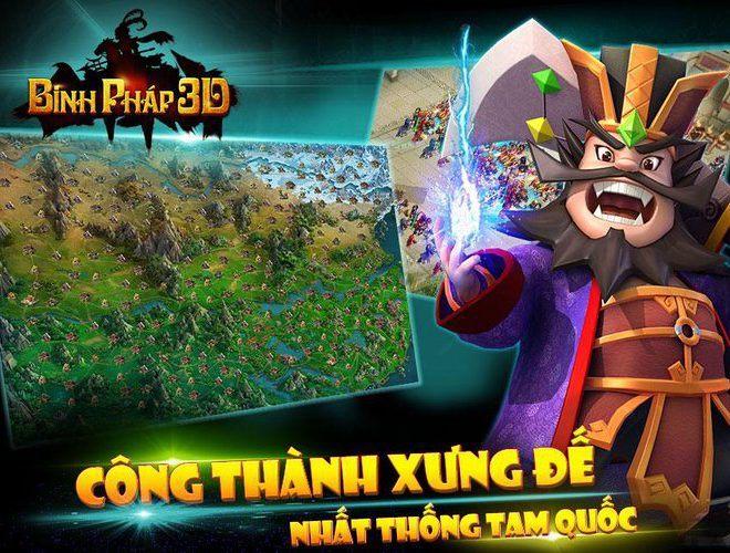 Chơi Binh Pháp 3D: Tam Quốc Chiến on PC 9