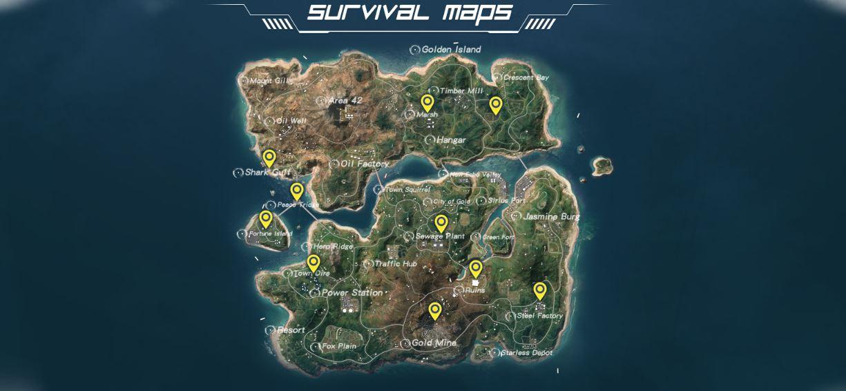 Yeni Başlayanlar İçin Rules of Survival