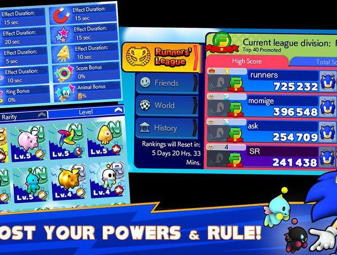Play Sonic Runners on pc 5