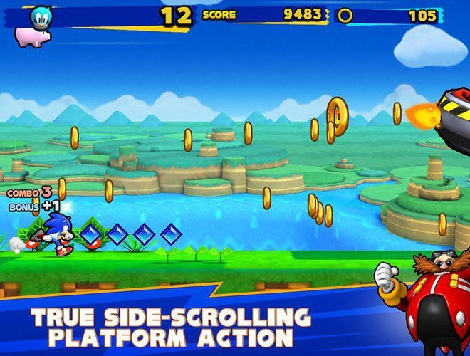 Play Sonic Runners on pc 13