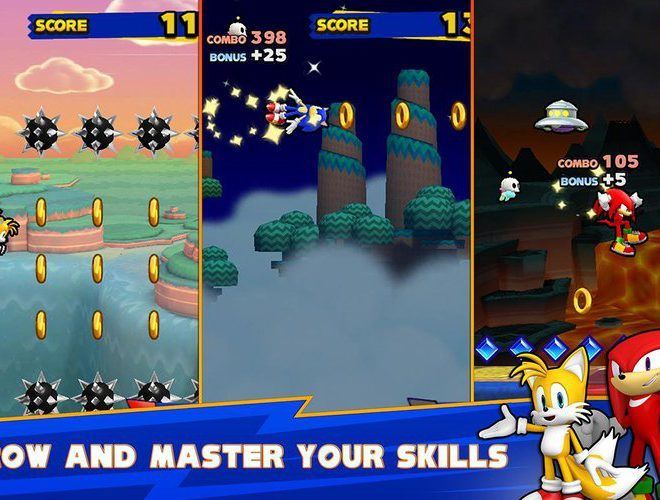 Play Sonic Runners on pc 4