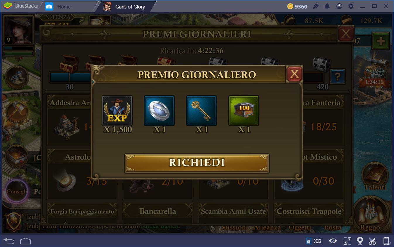 Guns of Glory: Trucchi e Consigli
