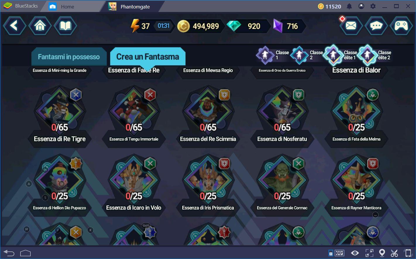 Phantomgate: Come Ottenere Fantasmi ed Eroi
